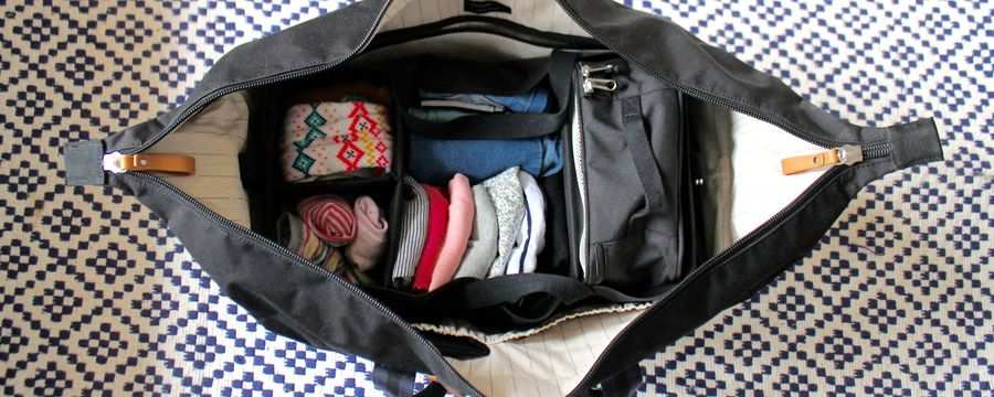 The carry-on you need when travelling with kids