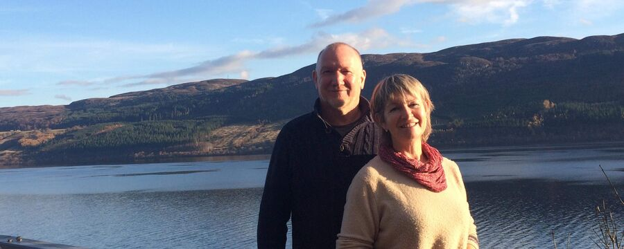 Meet the owners at Lenvos child-friendly holiday cottages