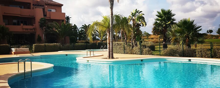 Family-friendly villa in Spain on the Mar Menor Golf Resort