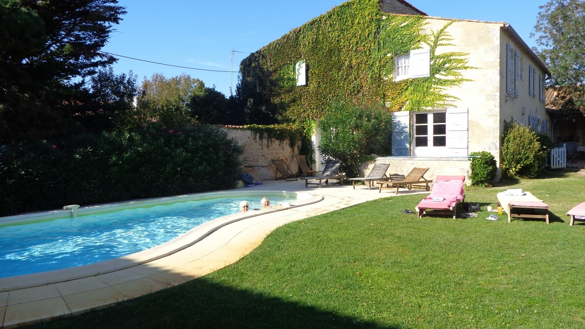 7 Bedroom Cottage in Poitou-Charentes, France