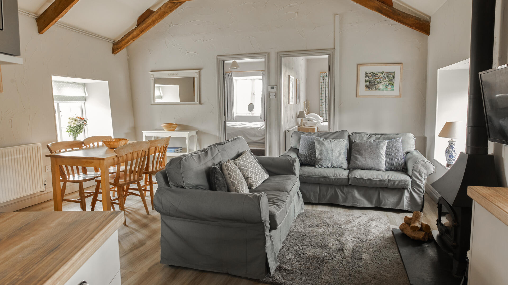 2 Bedroom Cottage/shared facilities in Cornwall, United Kingdom