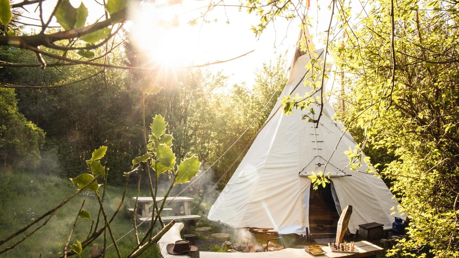 1 Bedroom Glamping/Tipi in Wales, United Kingdom