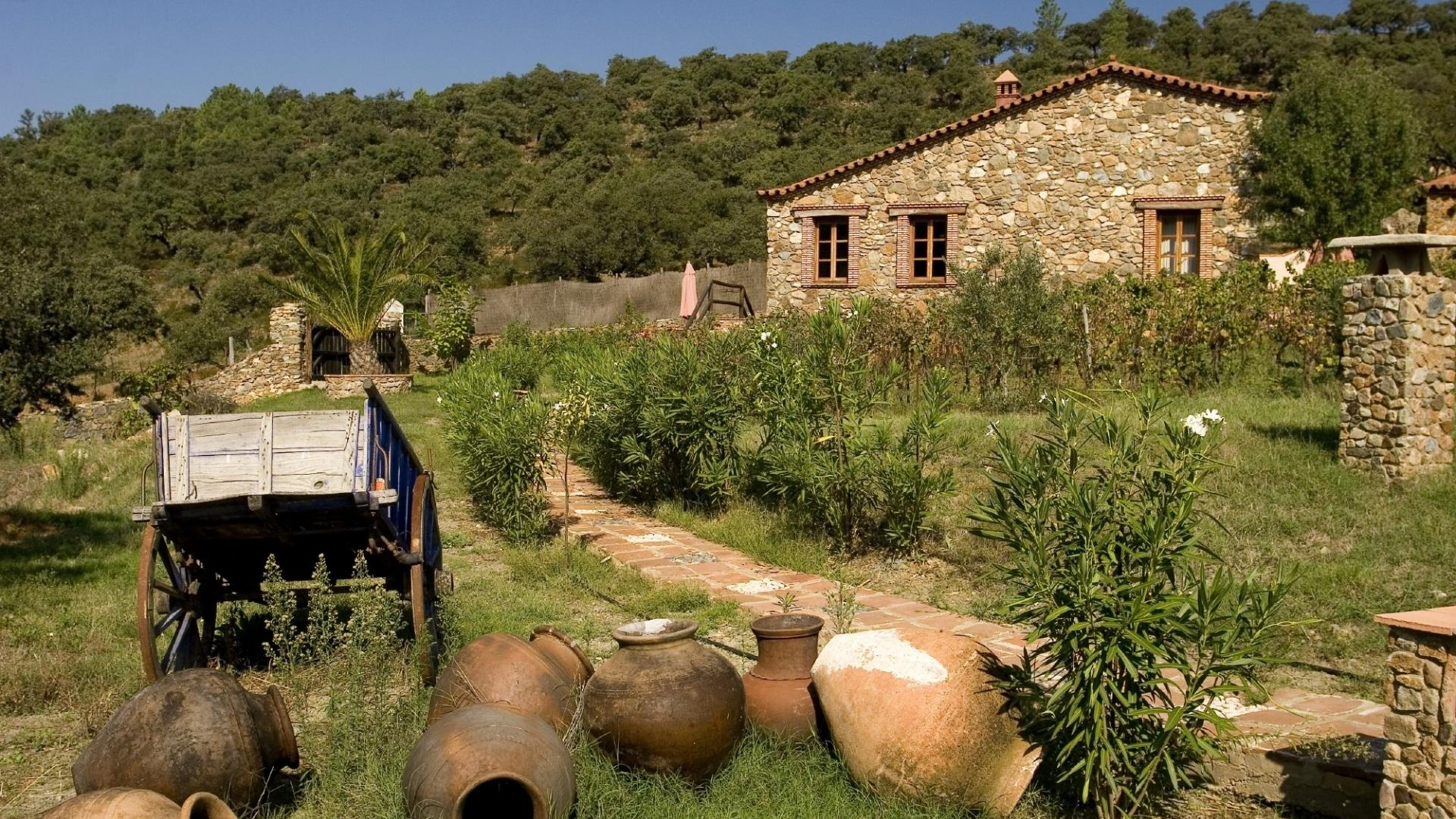 Molino Rio Alajar - rustic child-friendly holiday cottages