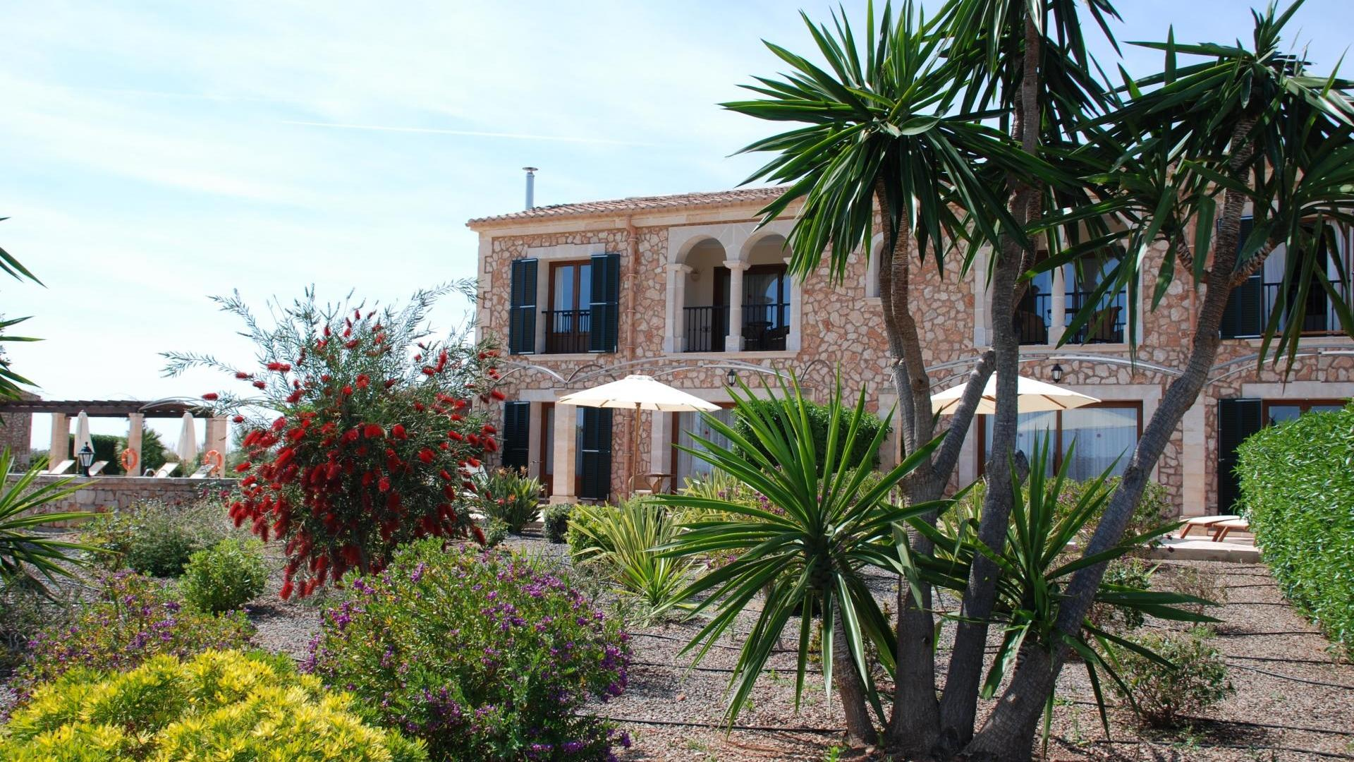 A family friendly hotel close to beaches in southern Mallorca