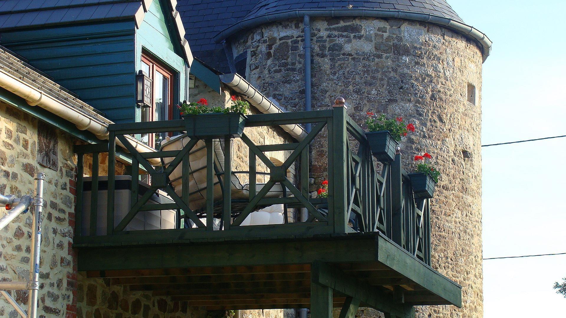 1 bedroom baby friendly apartment Calvados Normandy - ARCH