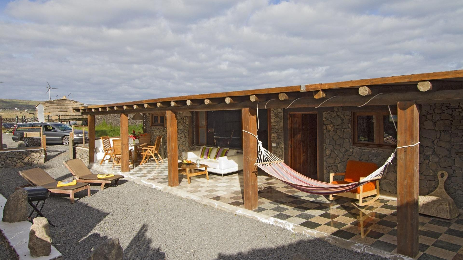 family-friendly eco barn in Lanzarote