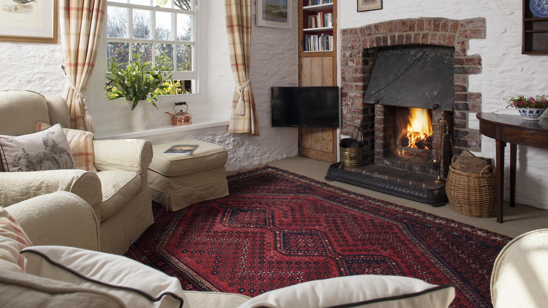 2 bedroom toddler-friendly holiday cottages Treworgey, Cornwall