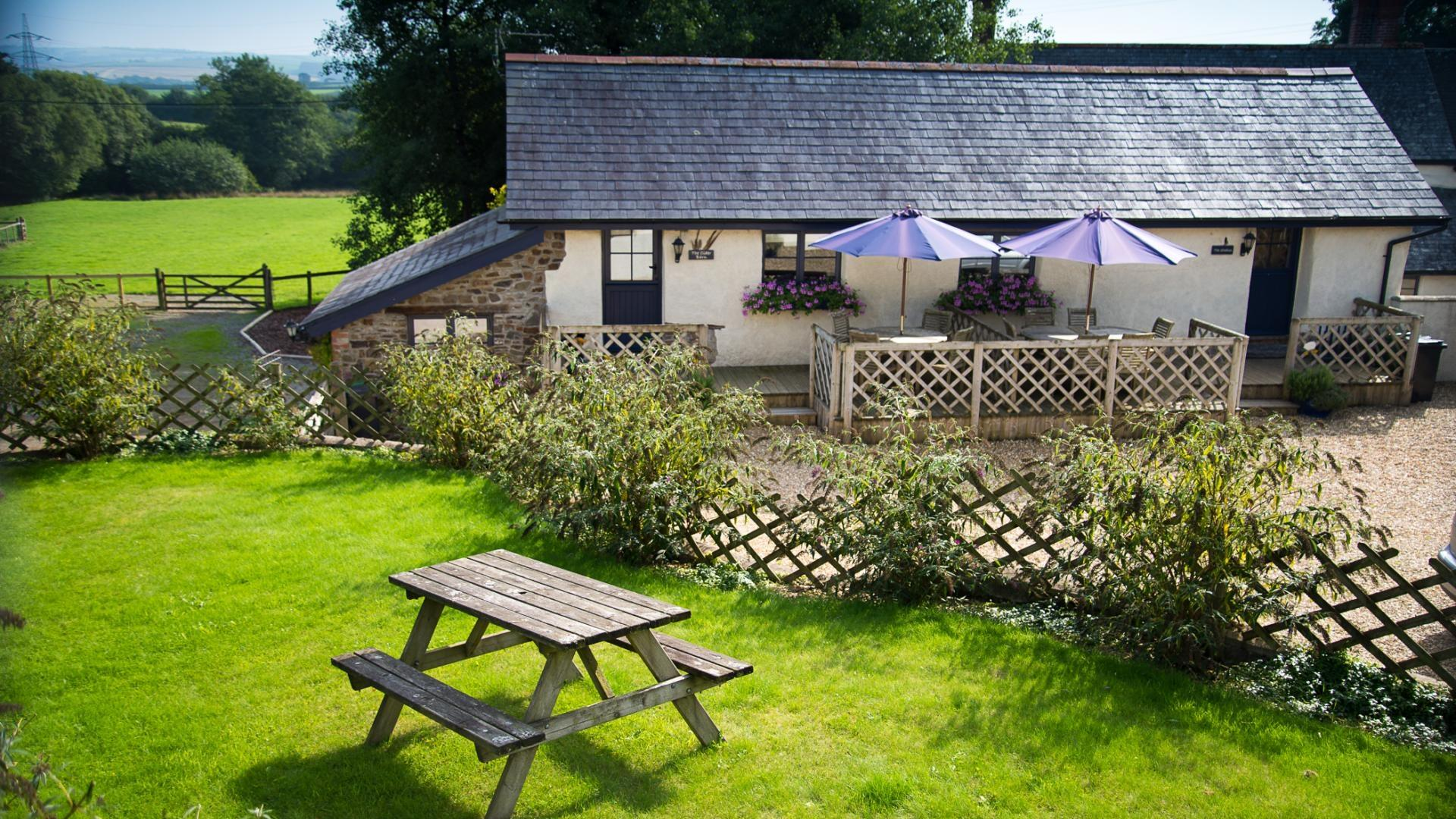 one bedroom baby-friendly holiday cottage in North Devon - TNBC
