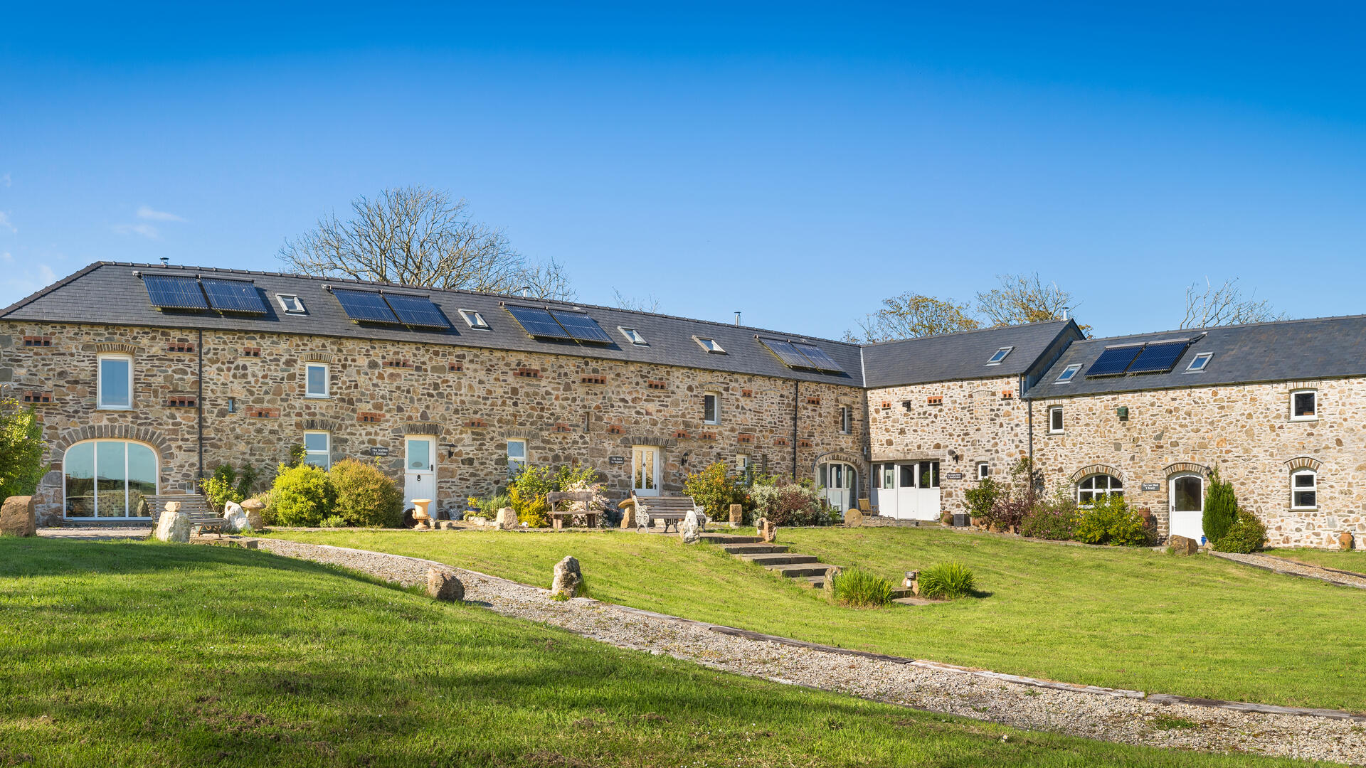 14 Bedroom Eco Cottage in Wales, United Kingdom