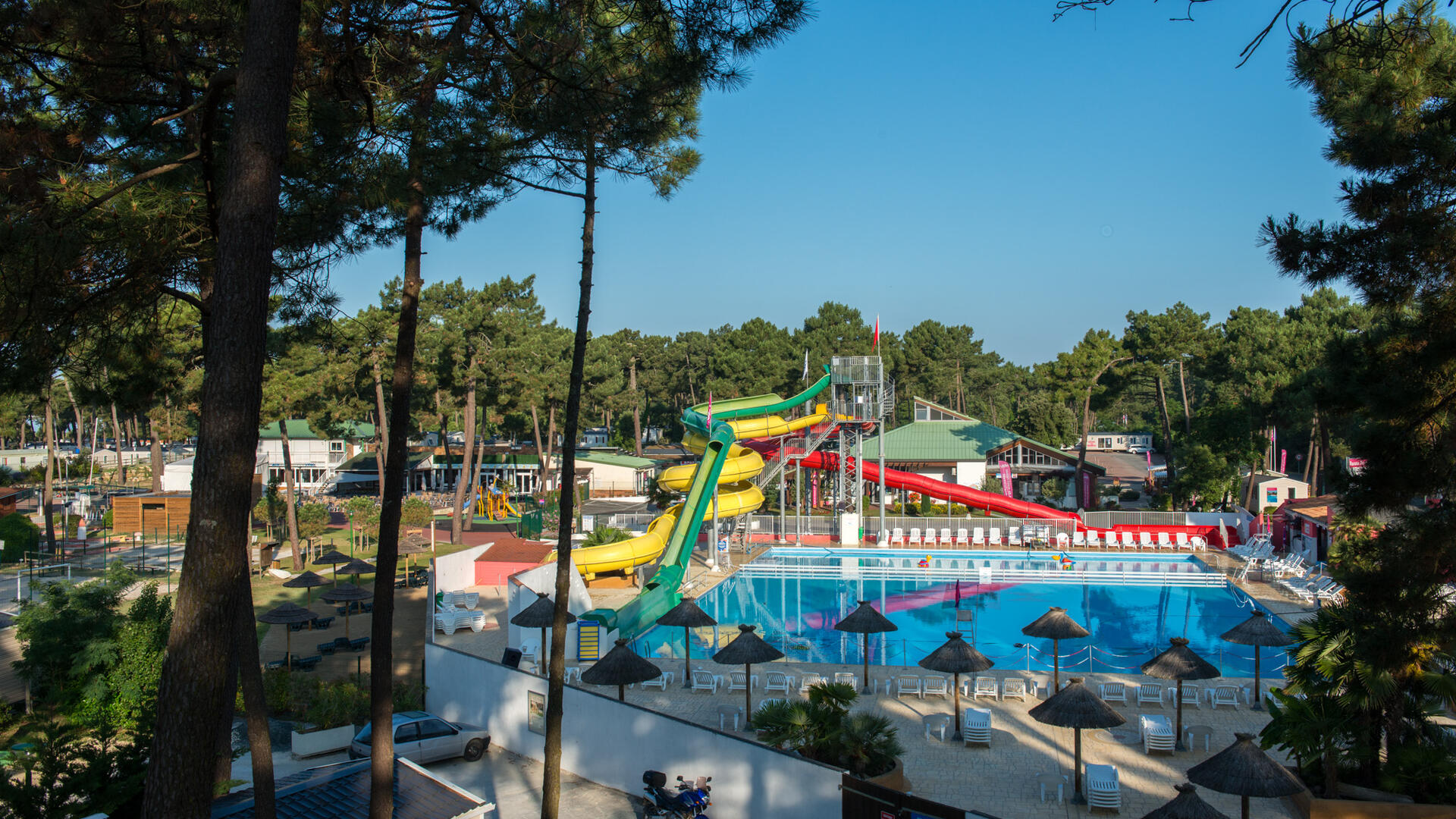 Family-friendly holiday village in France