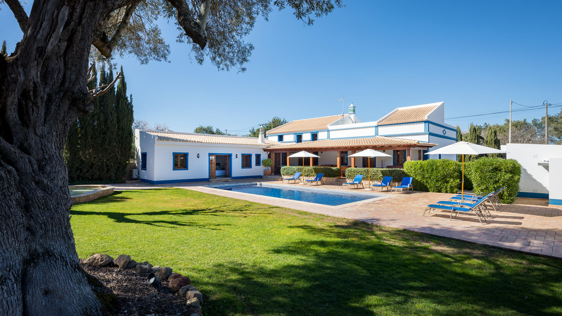 family friendly holiday villa near Boliqueime in the Algarve Portugal